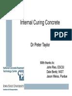Internal taylor Curing Taylor