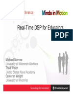 Real-Time DSP for Educators