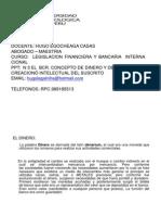 Clase Nº 3 El Dinero Funciones y Caracteristicas, Bcr La Inflacion