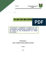 Actividad 5 - Plan de Mejora