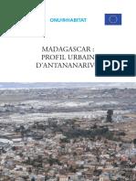 Antananarivo Urban Profile -Madagascar