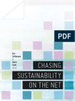 Chasing sustainability on the net