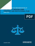 Peer Review of the Implementation of UN-Habitat's Medium-term Strategic and Institutional Plan (2008-2013)