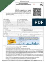 IRCTC Ltd,Booked Ticket Printing 2