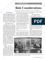 IFR Personal Risk Considerations