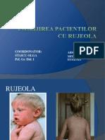 Ingrijirea Pacientului Cu Rujeola - Prezentare