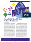 Can a Faith-based Prison Reduce Recidivism