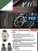 Retail marketin on titatn watches in bangalore