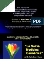 LA NMG -  siguiente Las Cinco Leyes Biologicas.pps