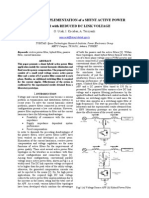 18     DESIGN and IMPLEMENTATION of a SHUNT ACTIVE POWER FILTER with REDUCED DC LINK VOLTAGE
