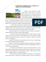 Acticvitatea Societatii Comerciale Raraul.sa (3)