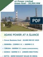 Adani Power_Unit Lightup Synchronisation & Shutdown