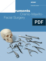 Instruments Craniomaxillo Facial Surgery996