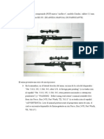 Descripcion Rifle Airforce