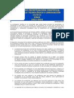POLÍTICA DE INVESTIGACIÓN CIENTÍFICA i+d+i UNAH
