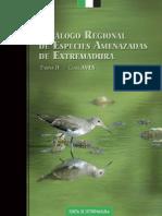 Catalogo Aves Extremadura