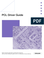 IR5000 PCL Driver Guide