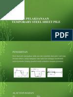 Metoda Pelaksanaan Temporary Steel Sheet Pile1