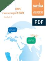 Water Operators' Partnerships in Asia