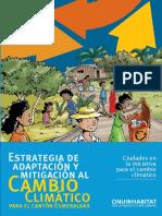 Estrategia de Adaptación y Mitigación Al Cambio Climático Para El Cantón Esmeraldas