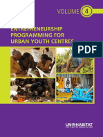 Entrepreneurship Programming for Urban Youth Centres