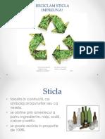 Reciclarea sticlei