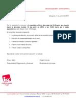 Convocatoria Area Mujer 2014-06-10