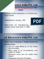 LG Electronics India Pvt. Ltd.