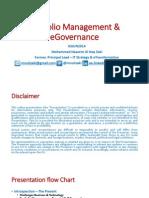 PortfolioManagement & eGovernance