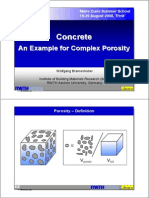 Concrete Porosity (Presentation)