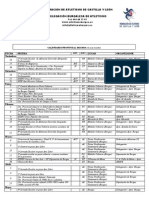 Calendario Provincial 13 14 Bu