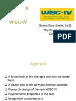 WISC-IV Introduction Handout