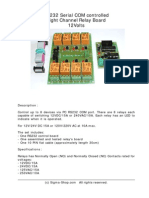 Kmtronic 8 Relay Rs232 Manual