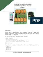 Kmtronic 8 Relay Rs232 Manual