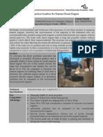 45-Reversible Reduction Gearbox for Marine Diesel Engine