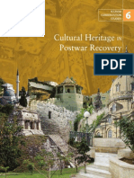 6_ICCROM Conservating Studies_Cultural Heritage in Postwar Recovery
