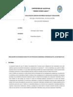INDICADORES DE IDONEIDAD DIDÁCTICA PARA LA ENSEÑANZA Y APRENDIZAJE DE LA MATEMATICA