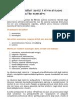 12-Osservazioni sulla riforma degli ITI