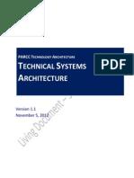 6 TechnicalSystemsArchitecture DISTRIBUTE-Nov 2012