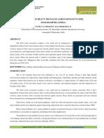 8. Applied-Analysis of Heavy Metals in Jaikwadi Dam Water-S. S. Patil
