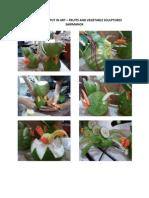 Fruits and Veg Sculpture Output