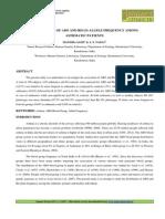 25. Applied-Distribution of ABO and RH _D_ Allele-Manisha Saini