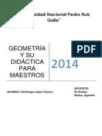 Geometría y Su Didáctica Para Maestros