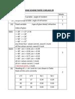 Marking Scheme Paper 3 Melaka 09