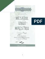 Mesajul Unui Maestru ( Romana )