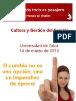 2 PPT Cultura y Gestion Del Cambio 2