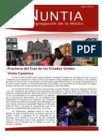 NUNTIA - Abril 2014 (Español)