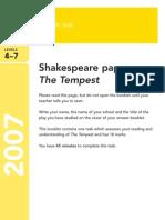 YR9 SATs - Shakespeare 2007