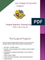 Surgical Registrar Training Program