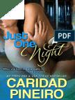 JUST ONE NIGHT, #NALit #Erotic #Romance novella